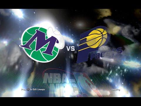nba2k11 Dallas Mavericks-Indiana Pacers Retro