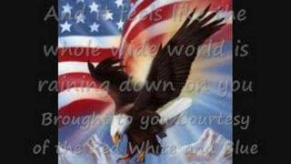 Watch Toby Keith Courtesy Of The Red White And Blue the Angry American video
