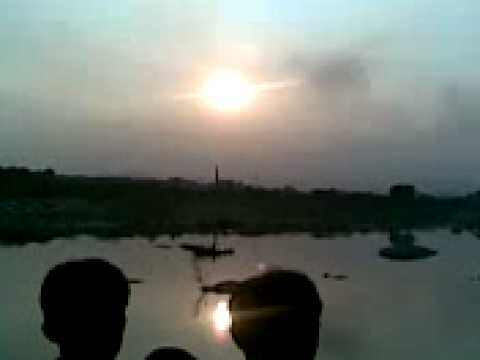 CHAT PUJA AARAG IN GHATSILA 2008 EVENING