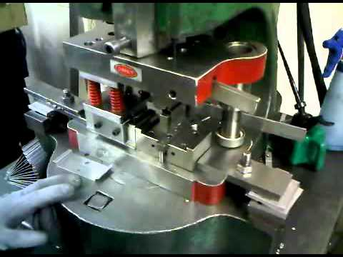Power Press And Fly Press Sheet Metal Work Youtube