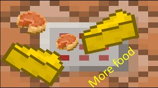 more food with only one command (minecraft 1.9 snapshot 16w02a)