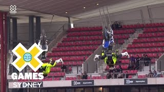WATCH LIVE: Moto X QuarterPipe High Air Final at X Games Sydney 2018