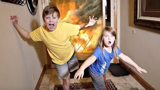 EXPLOSION at a Stranger's House! Hide and Seek Game