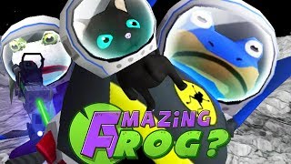 BAT FROG RESCUES SPACE CATS FROM JOKE FROG - Amazing Frog - Part 112 | Pungence