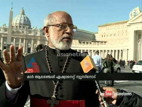 Cardinal George Alencherry in Vatican: speaks on canonization