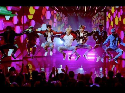 [171119] BTS (방탄소년단) DNA Performance @AMAs Fan Chants Compilation