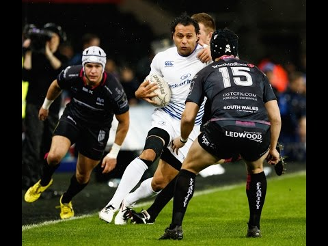 Johnny Sexton Kicks Blues Top | Ospreys v Leinster Highlights | PRO12