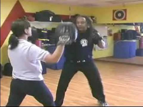 Jeet Kune Do Martial Arts Techniques : Hook-Cross Jeet Kune Do Punch Combination Image 1