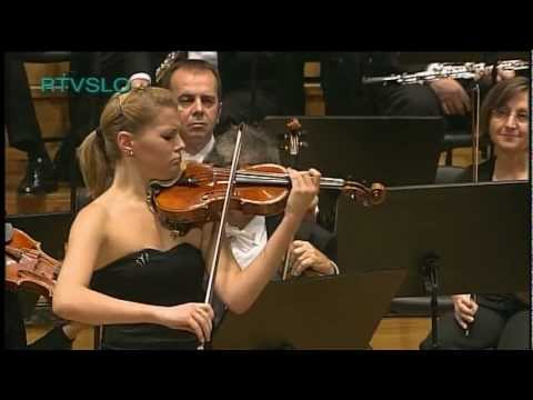 Antonin Dvok: Romance for Violin and Orchestra performed by Tanja Sonc Music Videos
