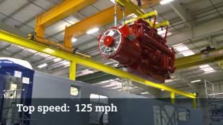 Siemens Charger locomotive receives a Cummins engine