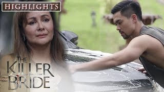 Antonia watches Edmundo while cleaning the car | TKB