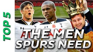 Five summer transfers that could win Spurs the Premier League in 2018