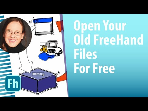How to open your old FreeHand files for free