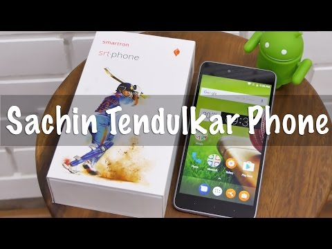 Sachin Tendulkar SRT Phone Unboxing & Overview (Hyderabadi Hindi)