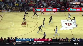 Highlights: Marquette at Indiana   Big Ten Basketball