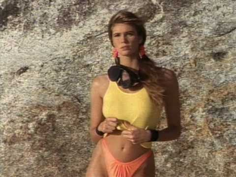 Special T Si >> Elle Macpherson - SI Swimsuit 1989 - YouTube