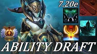 Dota 2 Ability Draft: +300 DMG Atrophy Aura INSANITY! Full Gameplay