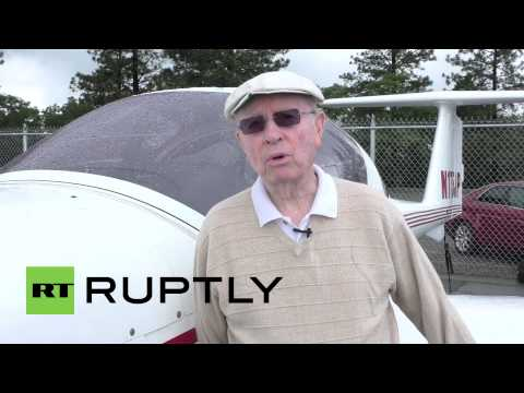 USA: Meet the world's oldest active pilot still flying at 95
