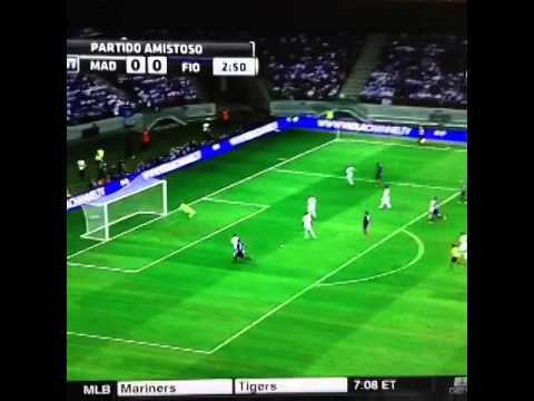 Primer parada de Keylor Navas en el Real Madrid