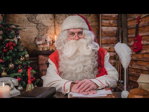 Un mensaje de Papá Noel / Santa Claus - Laponia - Finlandia - La ciudad de Papá Noel.
