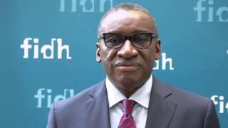 Sidiki KABA témoigne de l'action de la FIDH