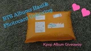 "BTS ""Love Yourself:Her"" Albums Haul + Photocard Unboxing"