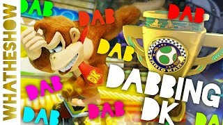 DABBING DK | Mario Kart 8 Deluxe | Egg Cup Full Multiplayer Coop Playthrough | Nintendo Switch