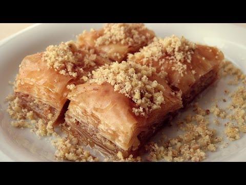 Baklava Recipe Turkish Turkish Baklava Recipe