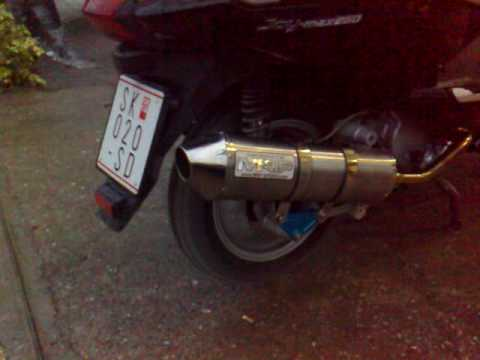 SYM RV JoyMax 250 Exhaust flame MRP