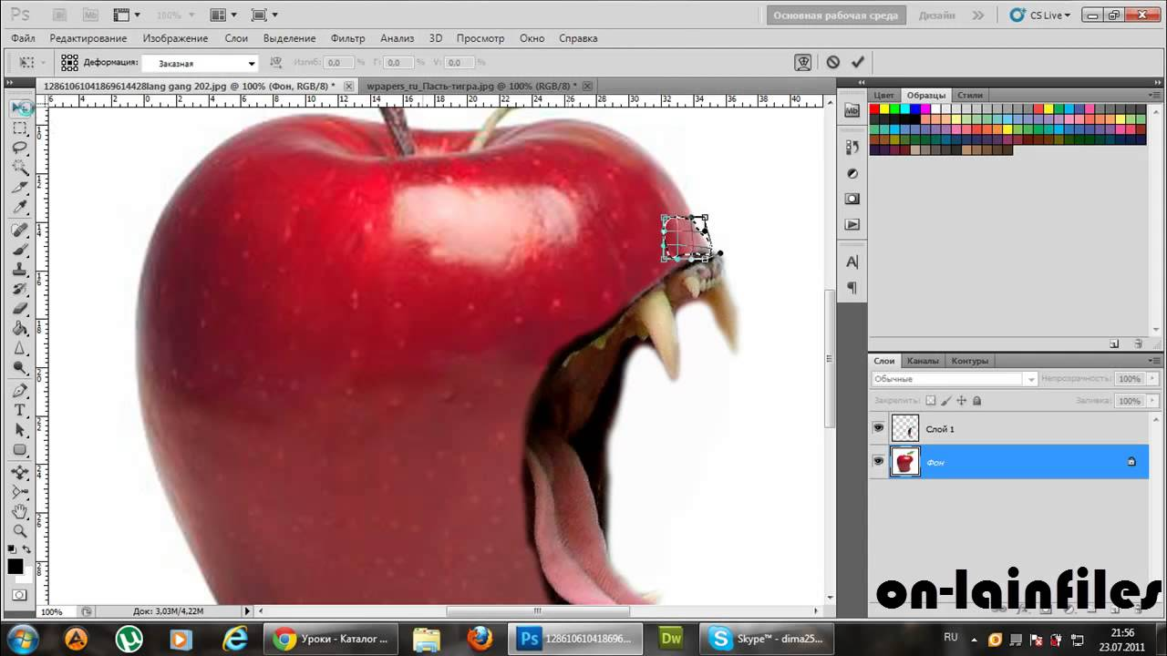 Как сделать красивое фото в фотошоп cs5
