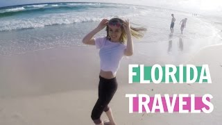 TRAVEL VLOG | FLORIDA, AMAZING BEACH! OKALOOSA ISLAND ☀