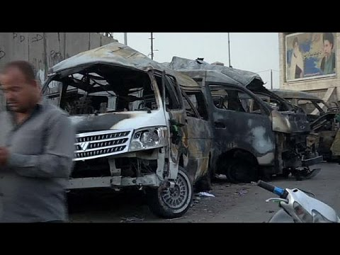 Dozens dead after series of car bombings in Iraq