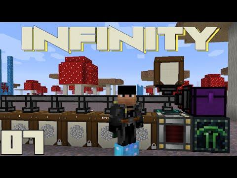Minecraft FTB Infinity - ENDER QUARRY TIME [E07] (HermitCraft Server)
