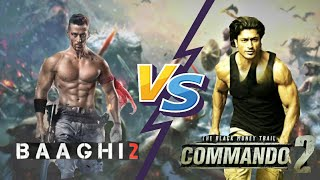 Baaghi 2 vs Commando 2 - Who would win in a Fight???