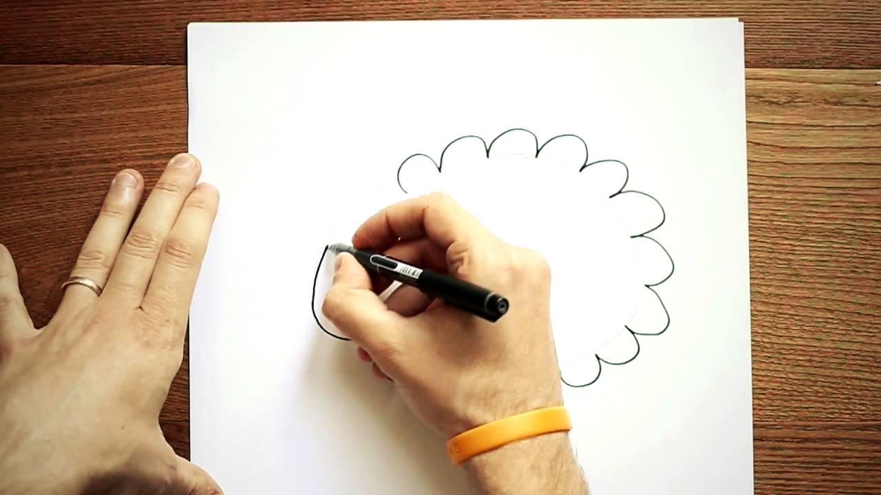 disegni per bambini disegnare una pecorella youtube On disegni semplici per natale