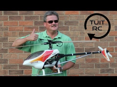 Thunder Tiger Raptor 30 Heli Flight Uncut Raw 4 minute Flight Just For FUN!