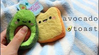 How to Make Squishy Avocado Toast   DIY Homemade Squishy Tutorial