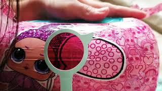 Unboxing L.O.L doll surprise Eye spy under wrap