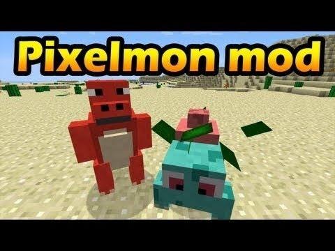 Minecraft Mod Showcase: Pixelmon Mod (Pokémon) (1.5.2)