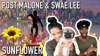Post Malone Swae Lee Sunflower Spider Man Into The Spider Verse Reaction