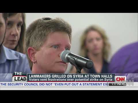 Voters vent frustrations over Syria