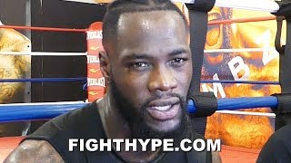 "(WHOA!) DEONTAY WILDER RESPONDS TO LUIS ORTIZ ""CRIMINAL"" ACCUSATIONS; WARNS ABOUT BLOOD RAISED"