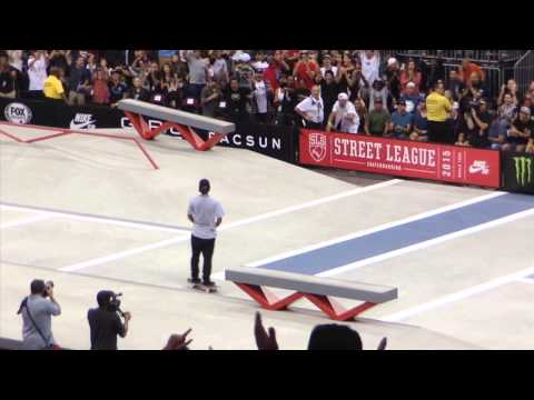 KELVIN HOEFLER amazing tricks at street league 2015 new jersey