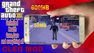 GTA 3 | 50MB Wait Cleo mod | Download on Android