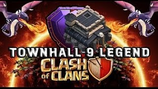 TH9 VS TH11 Legend League (Savage 8.9)