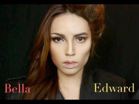 Edward and Bella Make-up Transformation