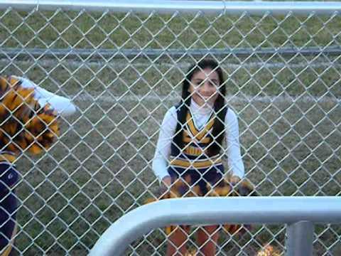 Furman Middle School cheerleader Allyssa 2011