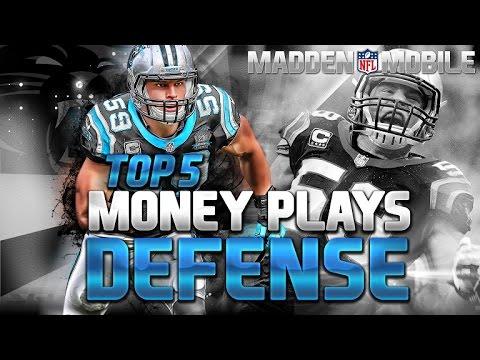Madden Mobile BEST DEFENSES!