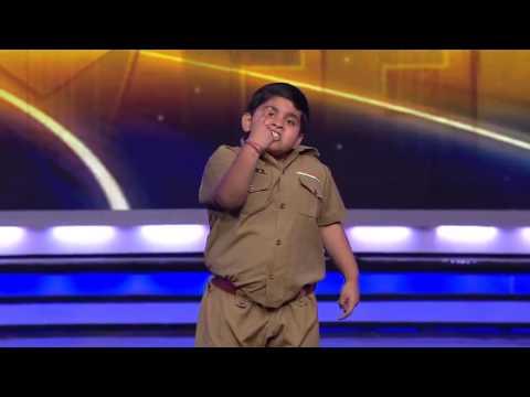 8-letni tancerz z nadwagą w Indyjskim Mam Talent.