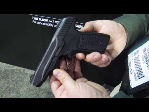 Remington R51 Concealed Carry 9mm Pistol at SHOT Show 2014